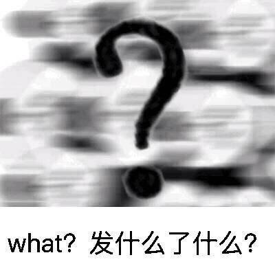 what发什么了什么 问号 斗图