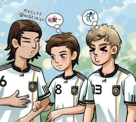 厄齐尔 动漫 可爱 欢乐 足球