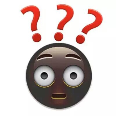 emoji系列 疑问 为什么 好奇